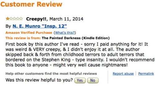 The Painted Darkness One Star Review