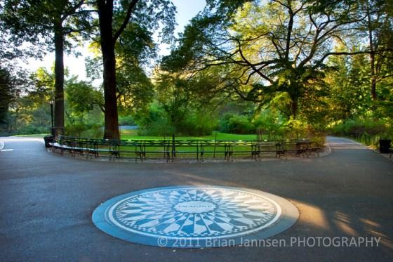Imagine John Lennon Memorial Central Park Manhattan New York City