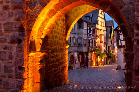 Riquewihr Alsace France Village Town Photography Workshop