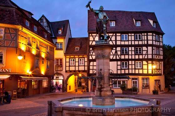 Colmar Alsace France Twilight Photography Workshop