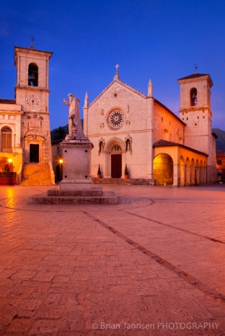 Norcia San Benedetto Umbria Italy Photography Workshop Tour