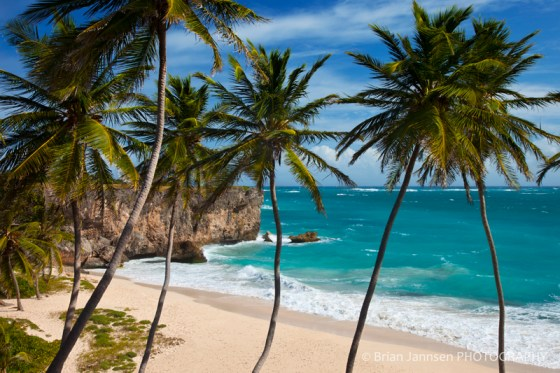 Beautiful Bottom Bay, southeast corner of Barbados, West Indies