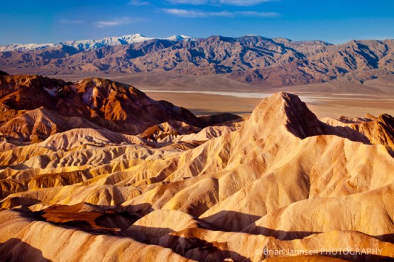 Manly Beacon Zabriski Point Death Valley California Sunrise