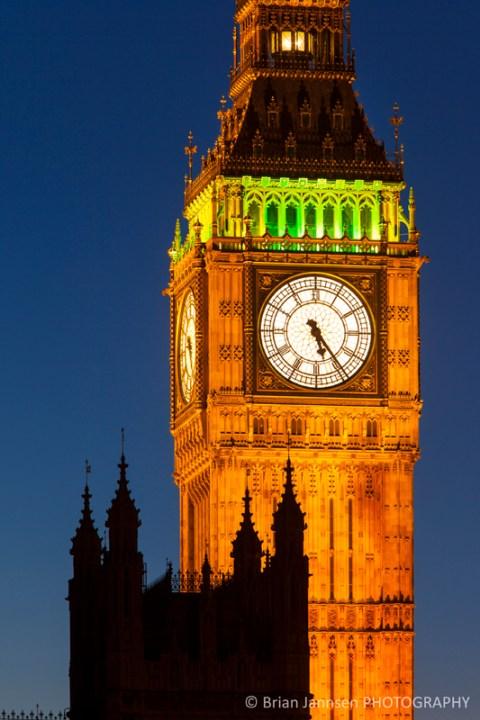 Big Ben Tower House of Parliament London England UK