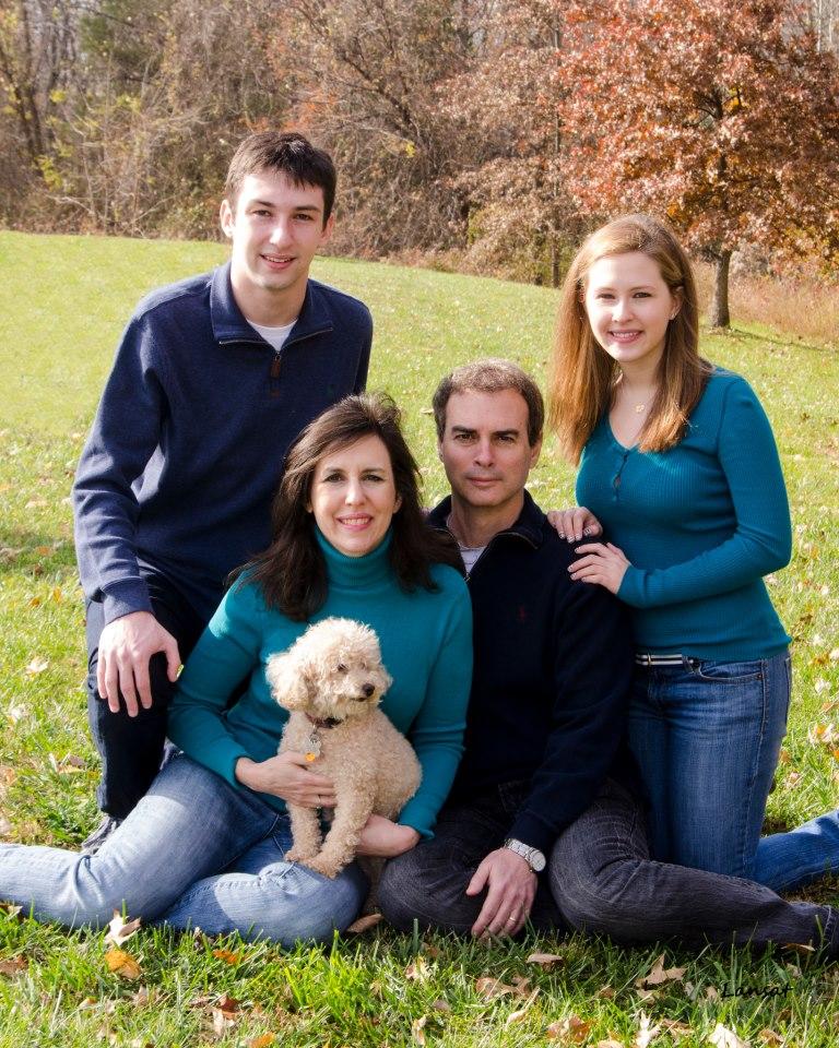 Family group picture of Senator Brian Feldman in Park