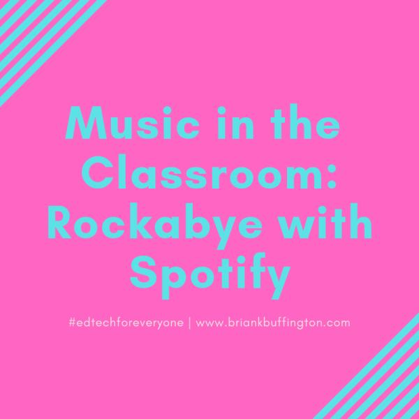 Rockabye with Spotify
