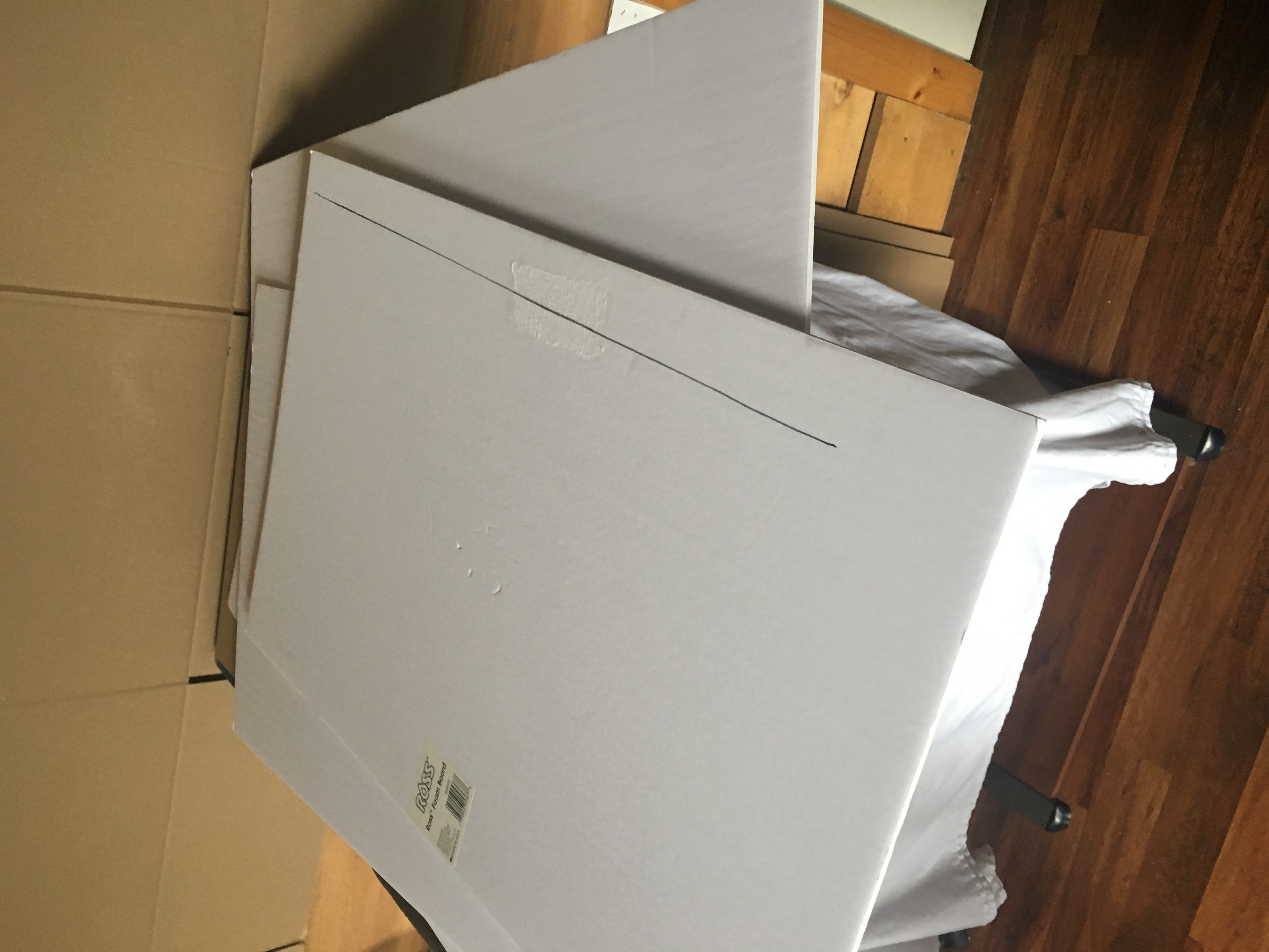 DIY White Studio Product Photography Box 3