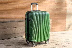 hard sided luggage spinner wheels