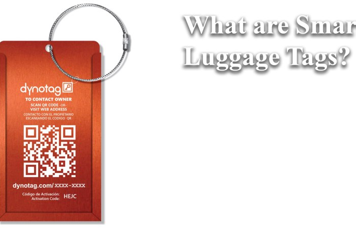 What are Smart Luggage Tags?