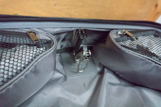 TravelPro Garment Bag Hanger Hold
