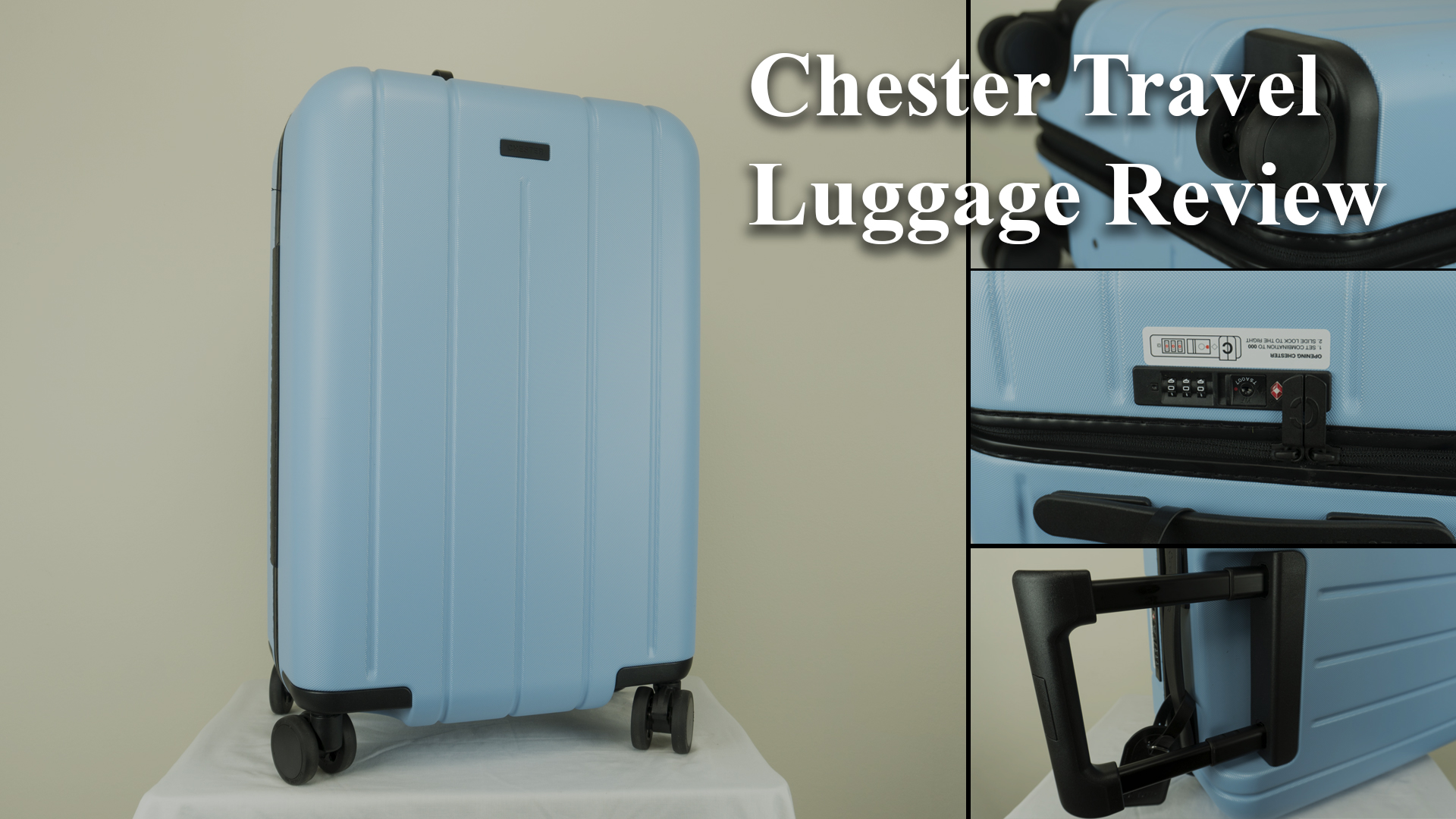 Chester Travel Luggage Carry On Review