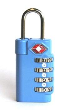 TSA Approved Lock Example