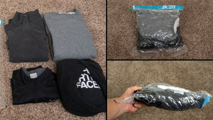 Holiday Travel Tips Space Saver Bags
