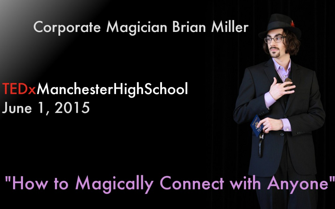Magician Invited to Speak at TEDx Conference