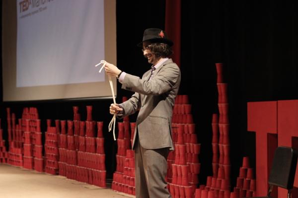 Magician Brian Miller delivers TEDx talk
