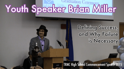 Youth Speaker Brian Miller