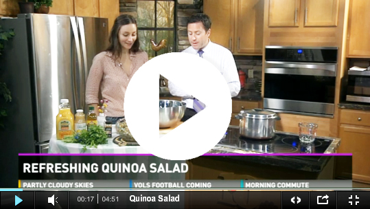Recipe – Refreshing Quinoa Salad