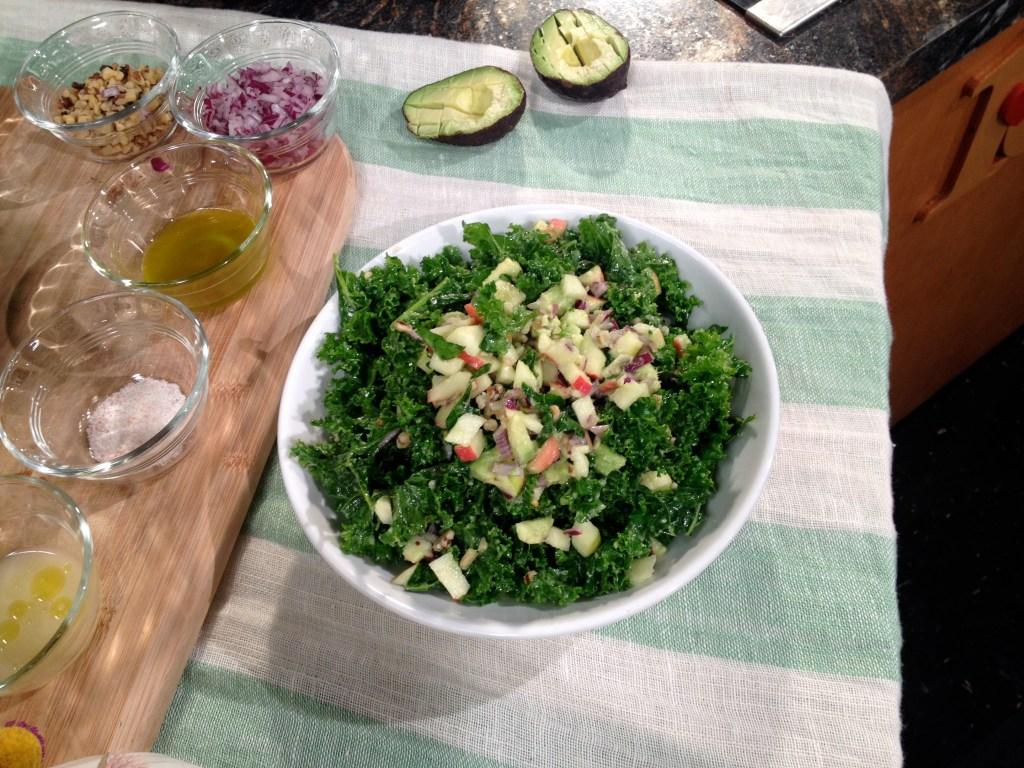 Creamy Kale Salad That Isn't Bitter Or Tough