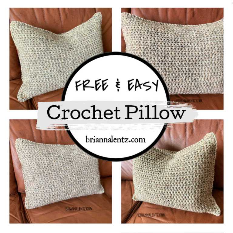 SIMPLE CROCHET PILLOW COVER MAIN IMAGE