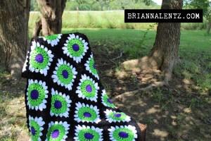Beetlejuice Crochet Blanket #3