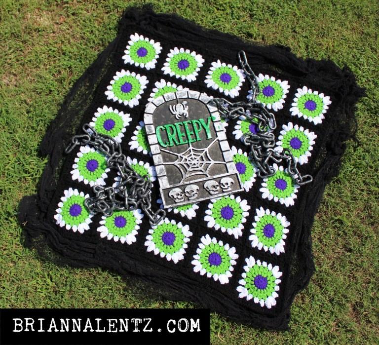 Beetlejuice Crochet Blanket #4