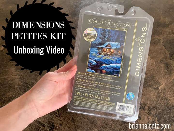 Dimensions Gold Collection Petites Moonlit Cabin Unboxing Video