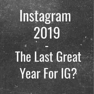 Instagram 2019 Post