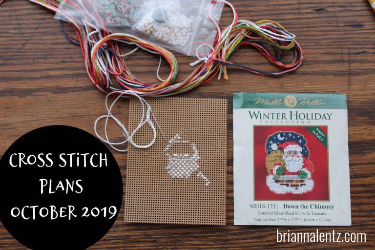 Cross Stitch Plans October 2019 Main Photo
