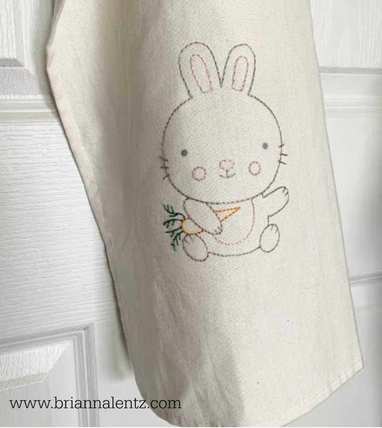Bunny Embrodery