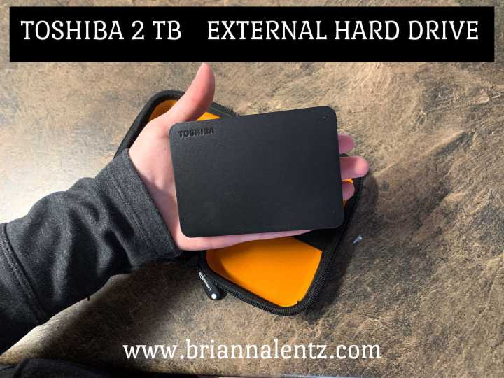 Toshiba 2 TB External Hard Drive