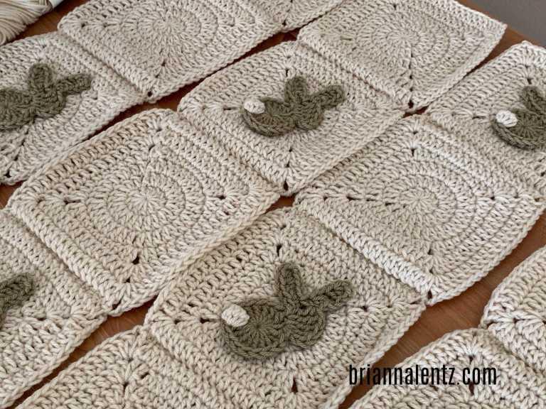 Crochet Bunny Blanket Pic 3