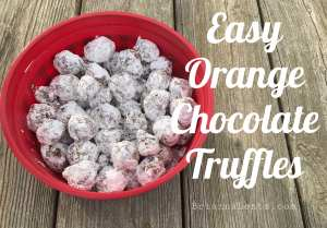 Easy Orange Chocolate Truffles A Brianna Lentz Recipe