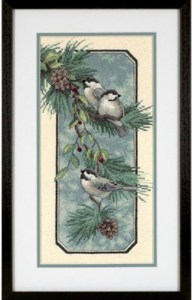 Dimensions Kit Chickadees on a Branch