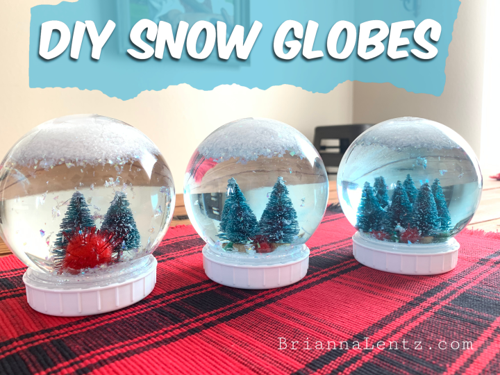 DIY SNOW GLOBES  Children's Activity