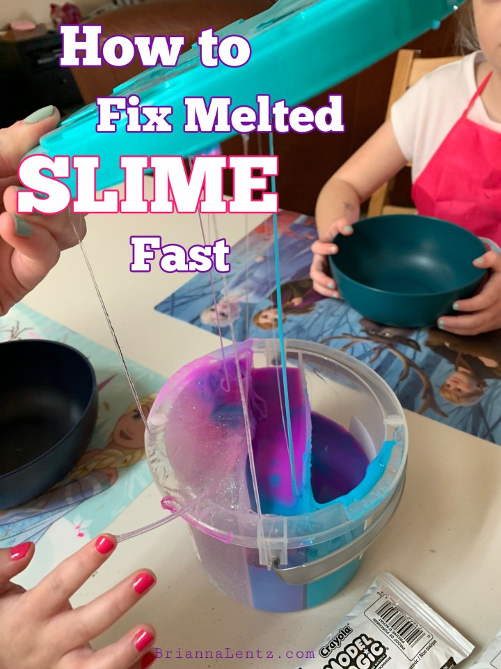 How to Fix Melted SLIME Fast!