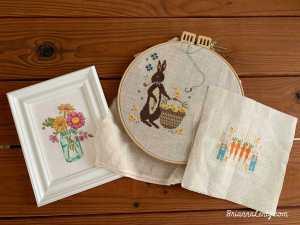 Flosstube #13 Brianna Lentz Cross Stitch