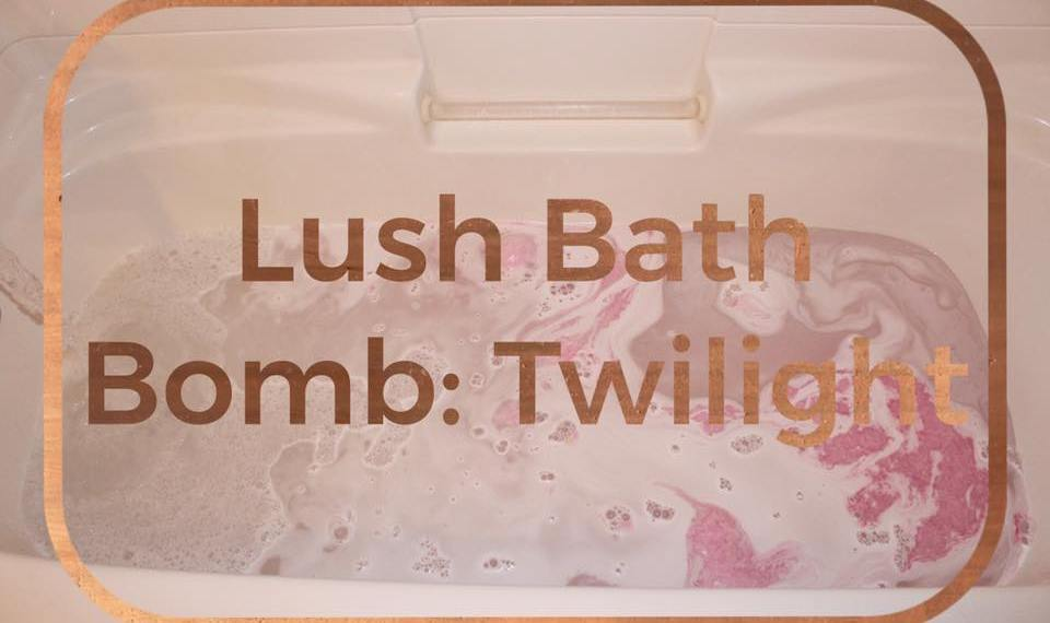 Twilight Lush Bath Bomb Review
