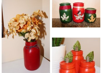Fall DIY Mason Jars