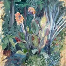 Ridgegarden Dusk, 16x20, Oil on canvas - $475