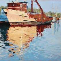 Shaman, Oil 16x20, Oil on canvas - $750