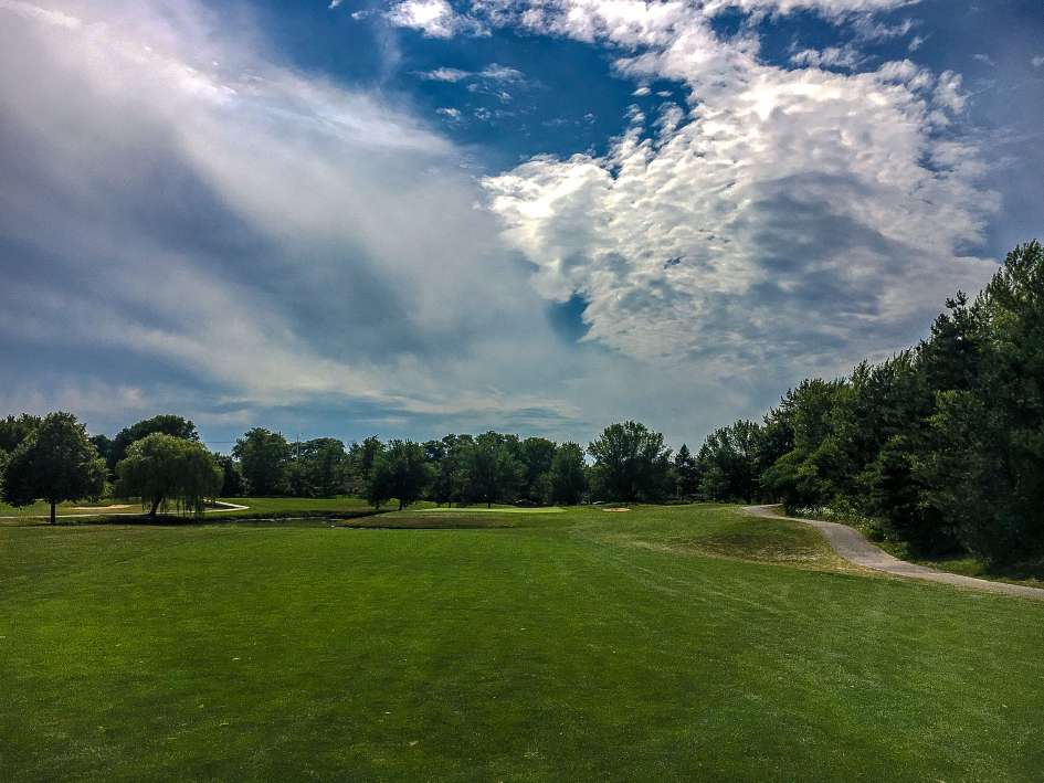 Arlington Lakes Golf Course - Arlington Heights - Old 9 Green, New 18 Look Two