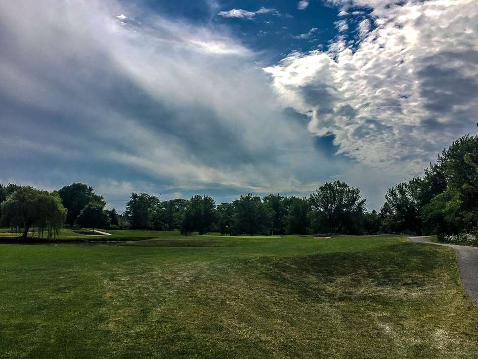 Arlington Lakes Golf Course - Arlington Heights - Old 9 Green, New 18