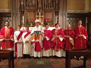 Ordination, St. Mark's Episcopal Cathedral, June 2012
