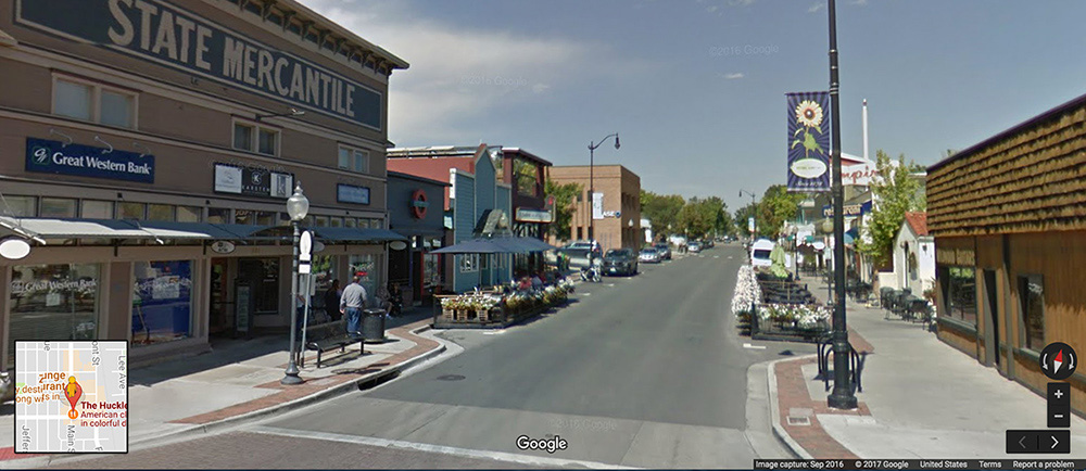 Louisville, Colorado Main Street