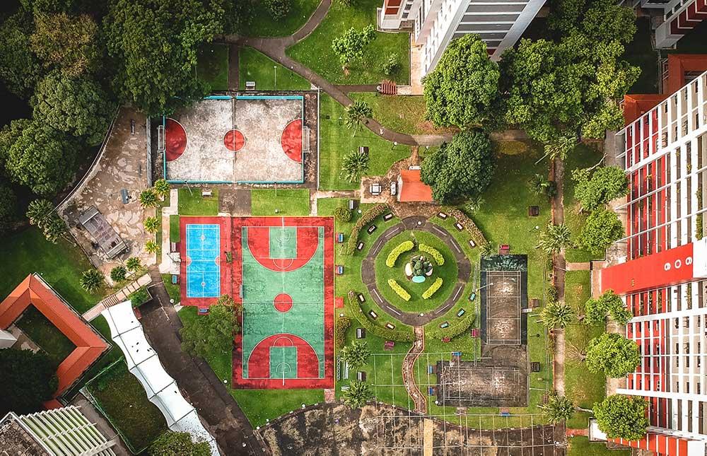 Beautiful courtyard plans