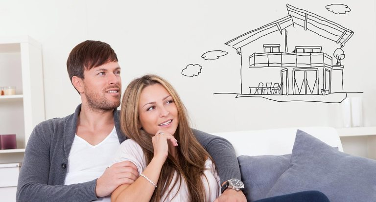 """Home buyers dreaming about a new home and asking themselves """"how much house can I afford?"""""""