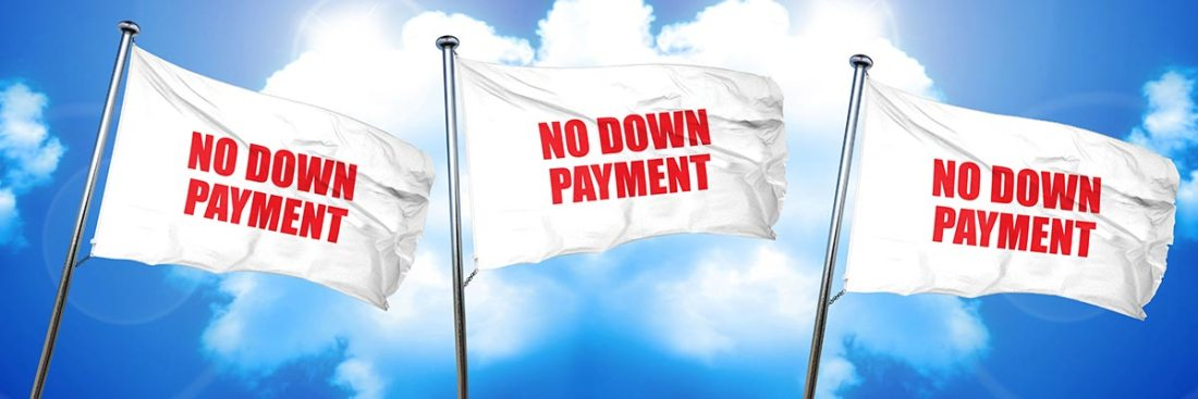 No Down Payment Flags