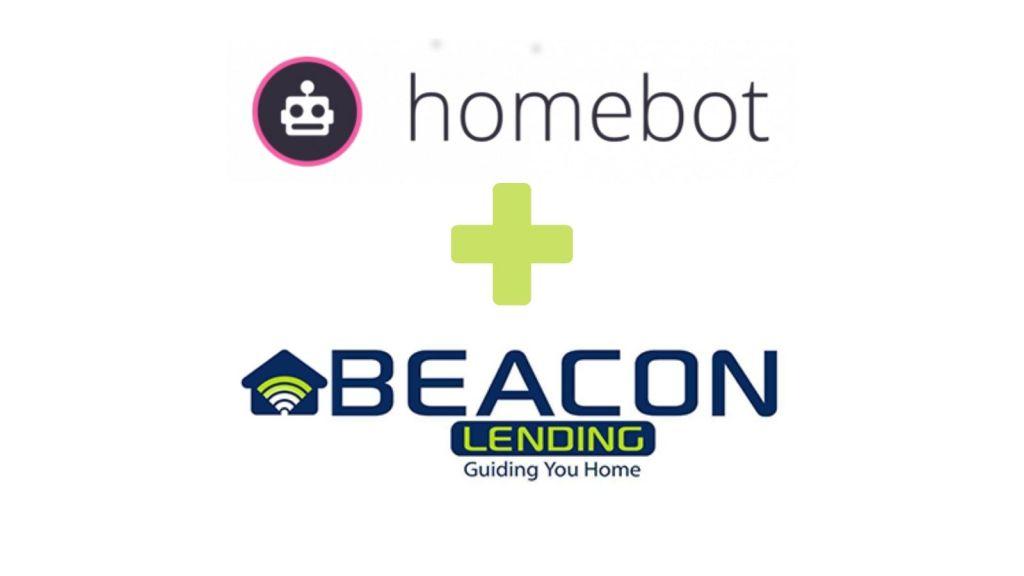homebot and beacon lending logos
