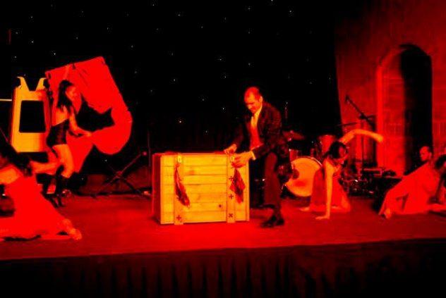 Brian Role and Lola Palmer Stage Show Magic in Malta Magician