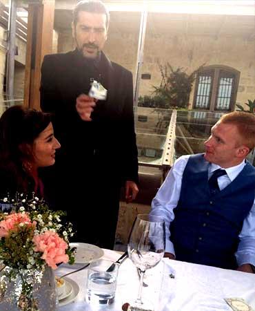 Magic for Weddings - entertainment by magician Malta